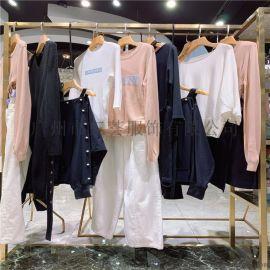 赫梵茜杭州新款女装库存品牌折扣尾货批量走份货源