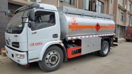 8吨东风福瑞卡大轮胎油罐车厂家直销