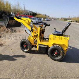 小型电动铲车 电力四驱装载机液压式小铲车