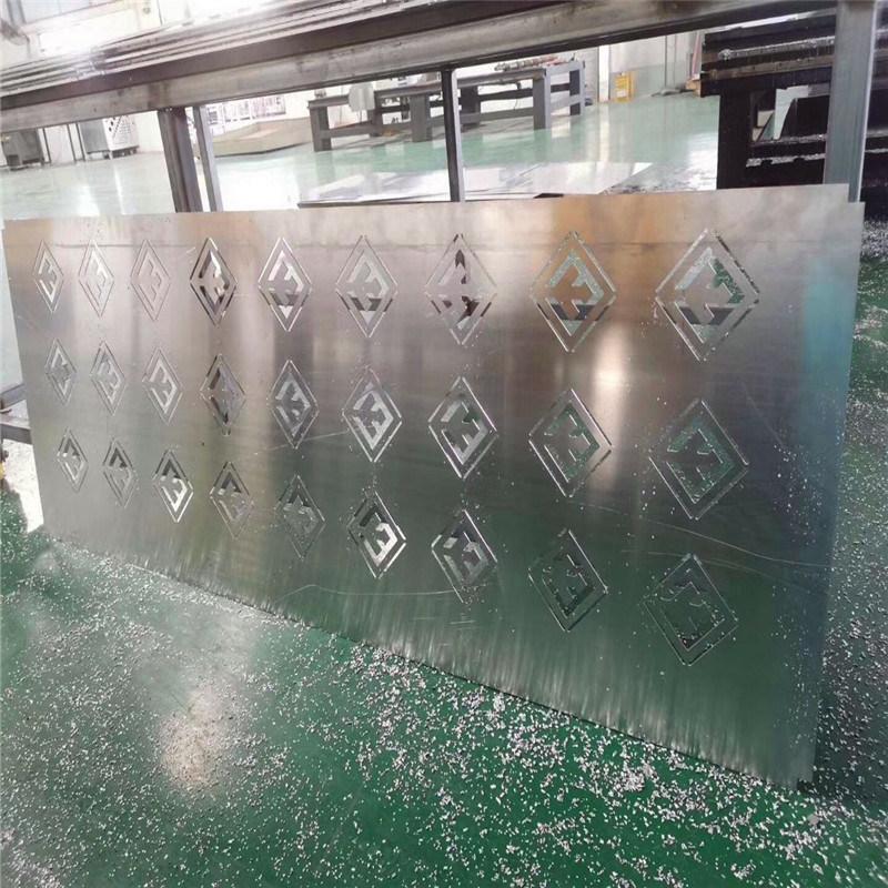 南阳外墙雕刻镂空铝板 白色镂空造型铝板定制