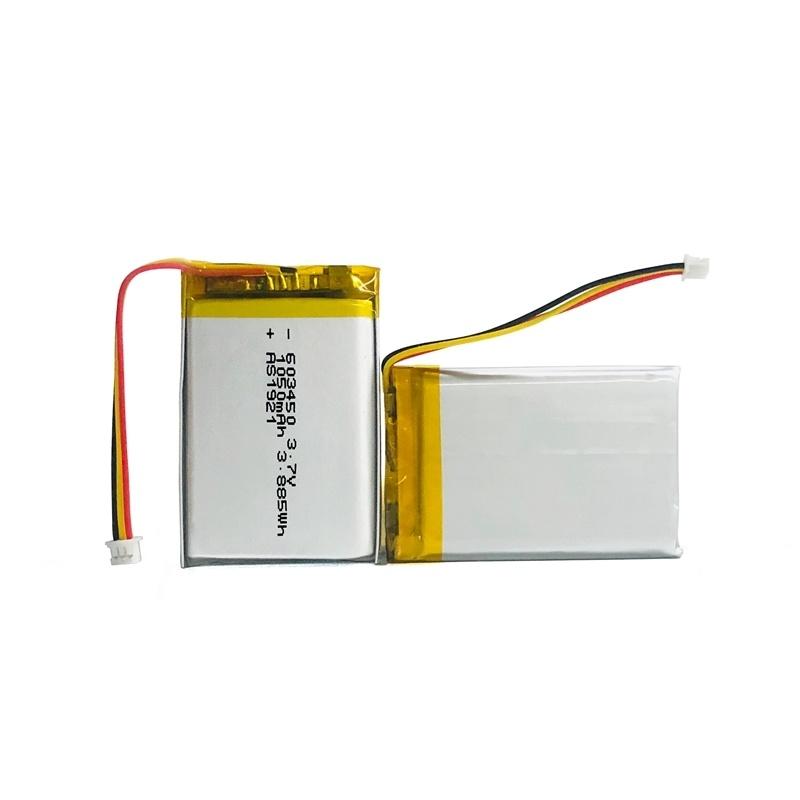 603450 1050mah鋰聚合物電池