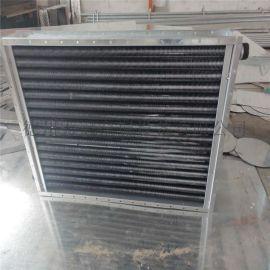 工业蒸汽用翅片管散热器,高频焊螺旋翅片管散热器