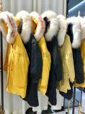 法国大山羽绒服女装品牌折扣走份 厂家直销一手货源