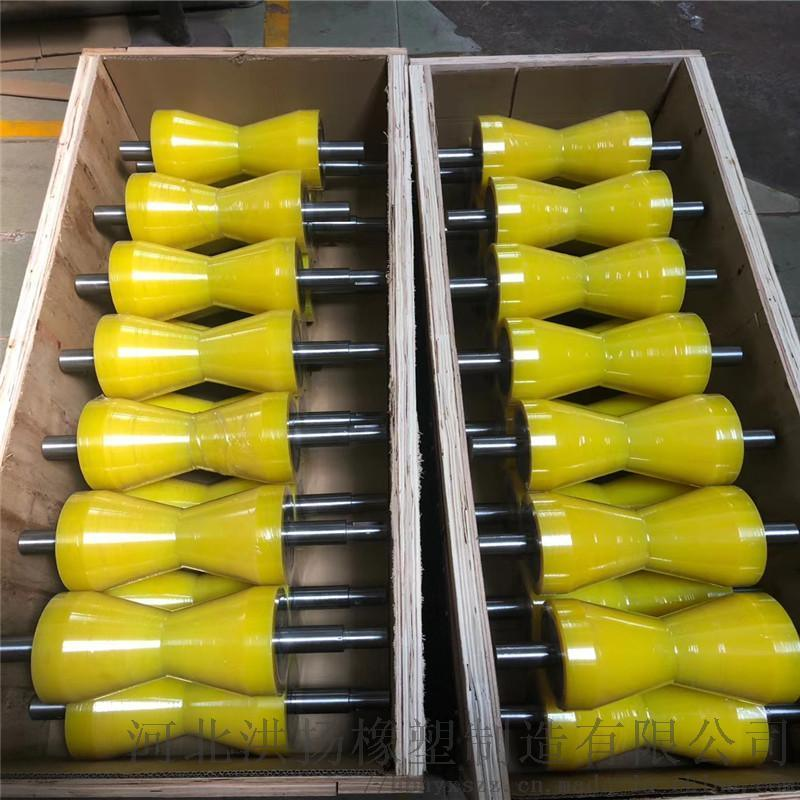 聚氨酯V型辊轮 V型聚氨酯包胶轮 V型聚氨酯输送辊