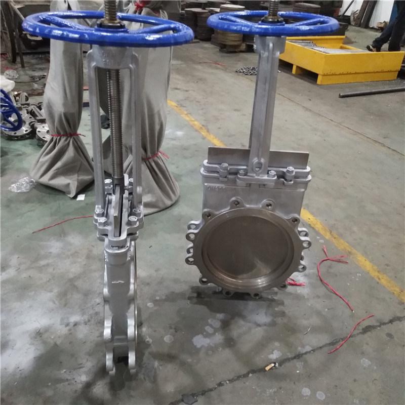 高温800度刀闸阀 耐温插板阀 耐  温DN150