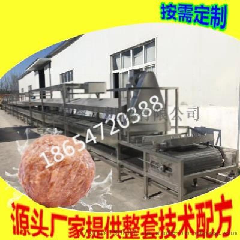 诸城蒸道式海产品蒸煮加工设备-连续式肉制品蒸煮设备