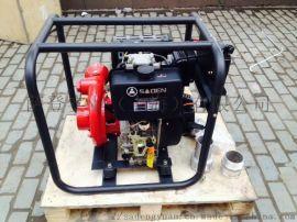 供应萨登4寸柴油自吸式水泵大口径柴油自吸式水泵