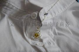 浙江厂家直销项链,锆石淡黄色炫彩项链