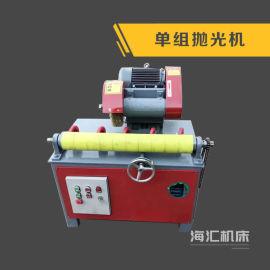 多工位天然气圆管抛光机,钢管喷漆机,除锈机