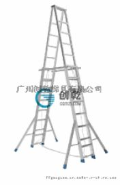 【深圳】客户购买创乾8米伸缩梯,加厚人字梯