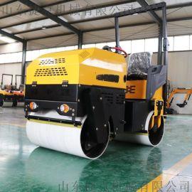 单钢轮压路机 液压压路机捷克厂家 1.5吨压路机