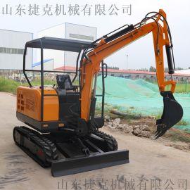 简单操作履带小挖机 钻坑挖土挖掘机 35挖机 捷克