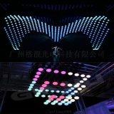 LED数字化升降球 悬浮动感彩球 RGB发光变色球