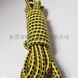 廠家生產花紋鬆緊繩  高彈力圓滌綸鬆緊繩