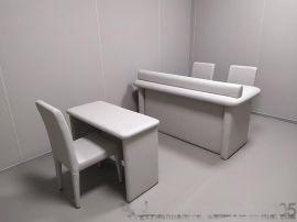 审讯室软包墙体防撞系统升级
