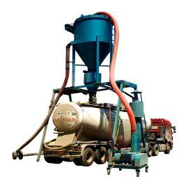 通畅粉煤灰装车机 无尘粉料气力输送机 干灰清库机