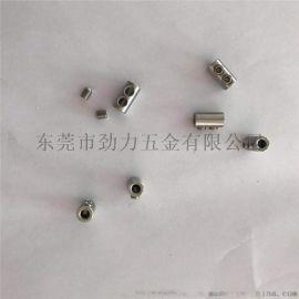 不锈钢钢丝绳锁线扣 316材质锁线螺丝定制加工