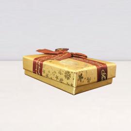 6格巧克力盒 烫金纸盒 节日礼品盒