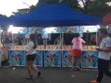 展会地摊跑江湖纯手工宏源水果酸奶片10元一包模式多少钱