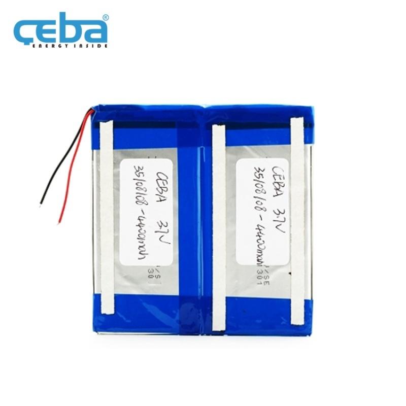4.4Ah平行车独轮LP35108108聚合物电池