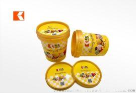 190g冰淇淋杯奶昔香草巧克力味精美圖案可定制設計