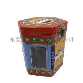 马口铁六角罐 万金油铁罐包装 供应中号六角罐