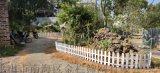 老婆婆花圃圍欄/草坪護欄/塑料圍欄/pvc現貨護欄