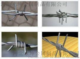 永坤刺绳铁蒺藜刺丝报刺线铝合金刺绳PVC包塑刺绳