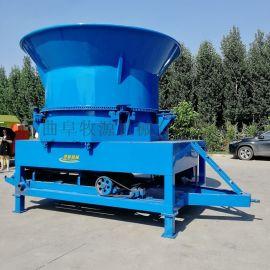 阜新大型草捆粉碎机全自动玉米秸秆饲料破碎机