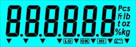 苏州众显电子秤TN屏 点阵屏 断码屏生产厂
