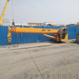 海口渔船吊机 12吨船吊