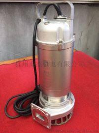全不锈钢220V潜水立式泵家用型立式电动潜水泵