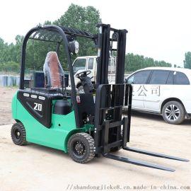捷克四轮座驾电动叉车 小型电瓶升降式液压搬运车定制
