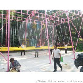 青海玉树大型多人网红秋千游乐设备
