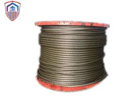 起力 涂塑钢丝绳每根钢丝均经过严格稳定化处理
