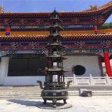 定製大型銅寶鼎廠家,寺廟五層七層銅寶鼎生產廠家