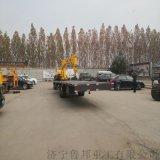 拖拉机运输吊车 10吨拖拉机平板吊车