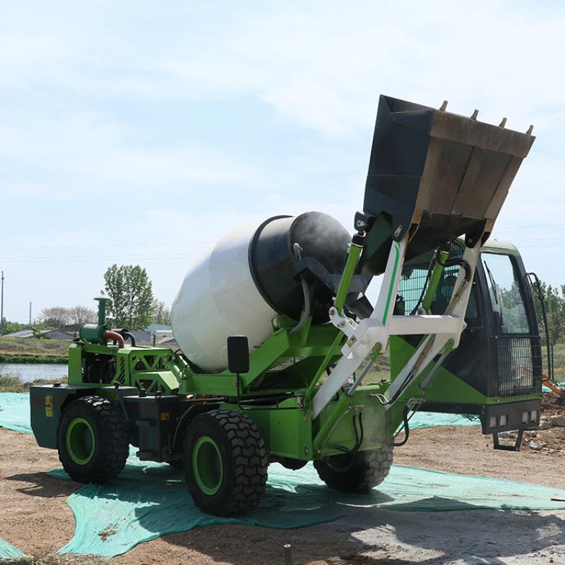 自上料搅拌车 水泥搅拌运输车 砂浆搅拌车