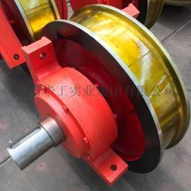 起重机锻造车轮 双轮缘主动车轮 500小车运行车轮