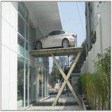 立體車庫貨梯廠家興化市啓運工業園升降機導軌式貨梯