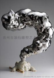 玻璃钢摆件-雕塑工厂