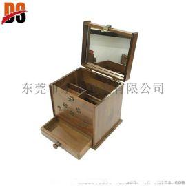 PWM004实木化妆箱