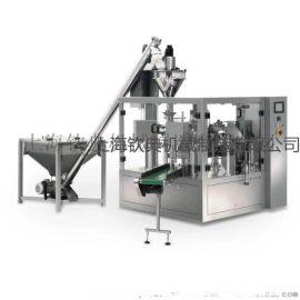 给袋式凉粉包装机 自立袋魔芋粉自动包装机