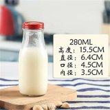 豆汁玻璃瓶生产厂家豆浆牛奶瓶