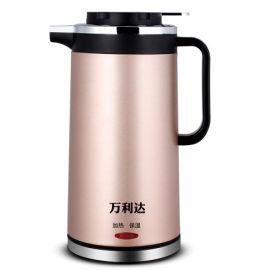 不锈钢保温电热水壶 万利达电热水壶