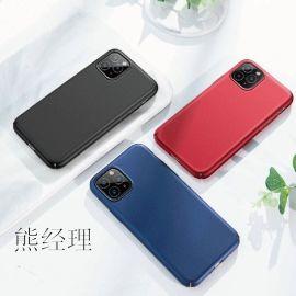 真皮全包外壳 苹果11纯色手机壳手机皮套保护套