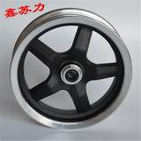 電動小推車輪轂10寸五筋40盤碟剎鋁輪三輪車前輪