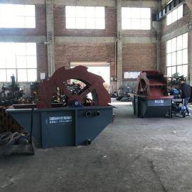 全自动轮斗洗砂机风火轮水洗轮小型筛沙洗沙一体机