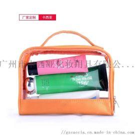 休闲大容量手提包 透明化妆包 PVC防水礼盒包