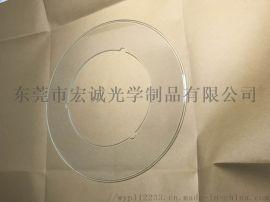 订做光学影像筛选玻璃盘/打孔环形玻璃厂家